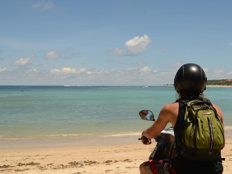 Bali mit dem Roller